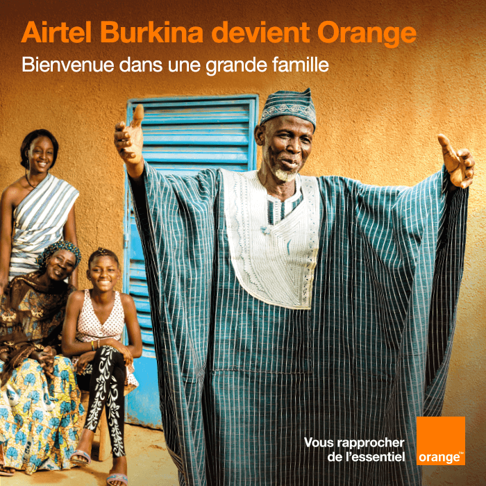 ORANGE lance sa marque au Burkina-Faso