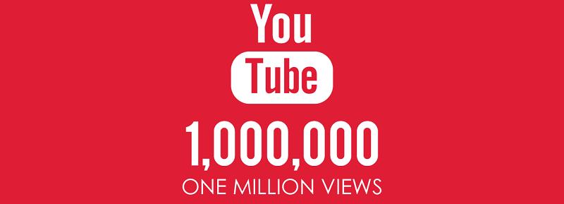 combien dargent pour 1 million de vue sur youtube